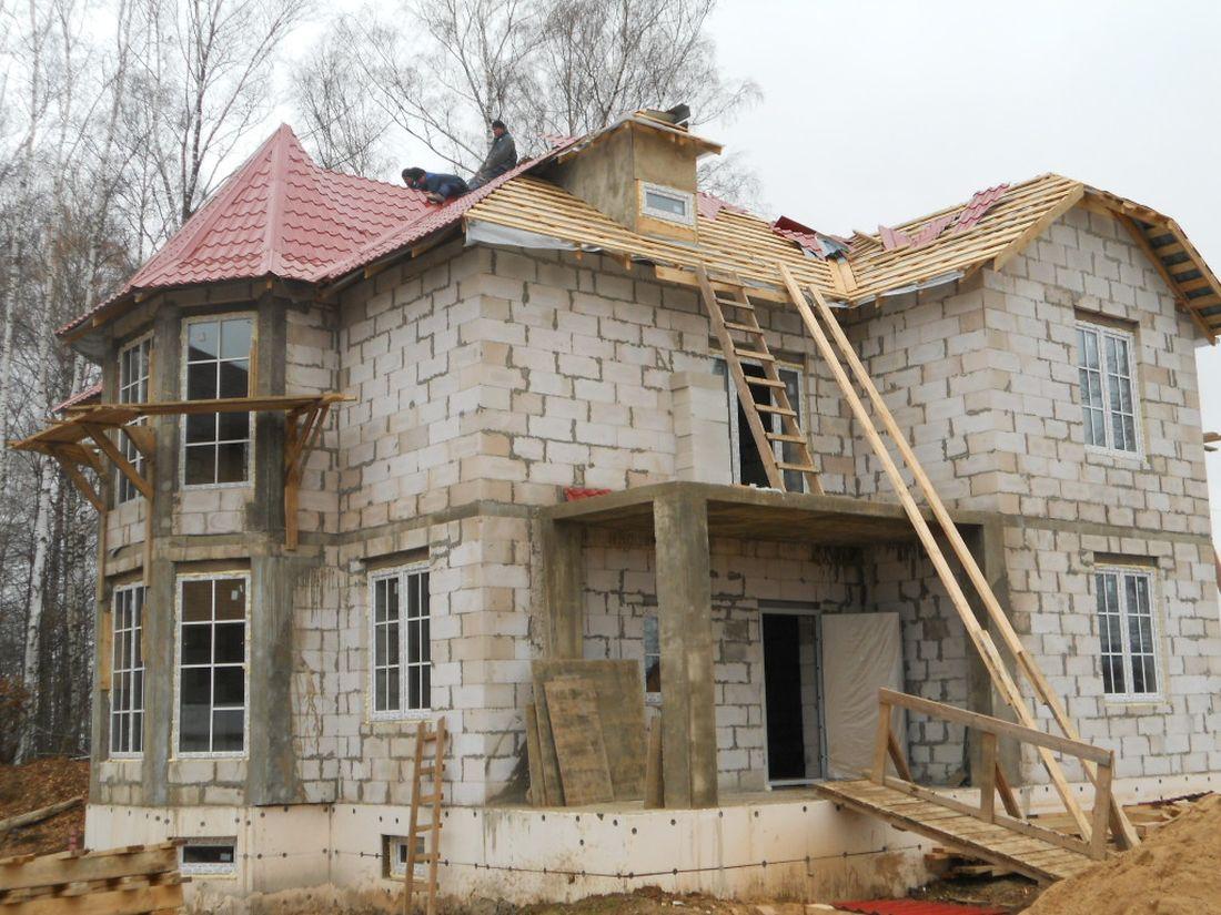 Строительство дома из пеноблоков своими руками 1182565309